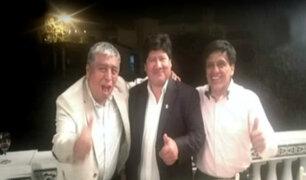Revelan imágenes de Edwin Oviedo y Antonio Camayo juntos en reunión