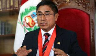 PJ ordena impedimento de salida del país para juez César Hinostroza