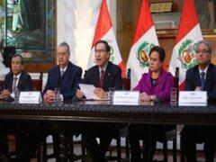 Presidente Vizcarra instaló comisión de reforma del sistema judicial