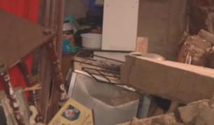 Barrios Altos: familia pierde todas sus pertenencias tras derrumbe