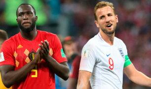 Inglaterra vs Bélgica: así se vive la previa al partido por el tercer lugar