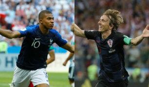El último partido: Francia y Croacia buscarán la gloria en la final del Mundial Rusia 2018