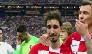 Lamento de los croatas tras perder el Mundial