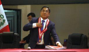 CNM dispone la suspensión indefinida del juez César Hinostroza