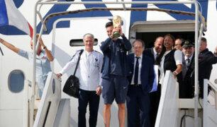 Francia: los campeones del mundo fueron recibidos por miles de hinchas en París