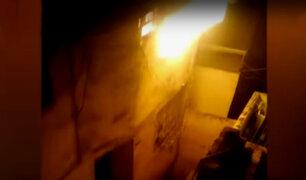 Anciano muere al incendiarse su casa en antigua quinta del Callao