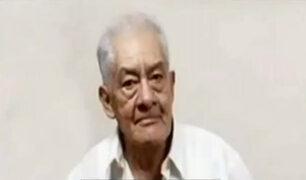 Buscan a hombre de 73 años que lleva desaparecido hace 12 días