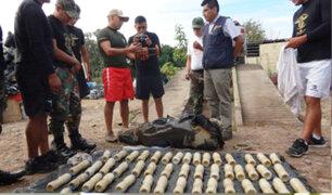 Ayacucho: PNP incauta 45 kilos de alcaloide de cocaína en tanque de combustible