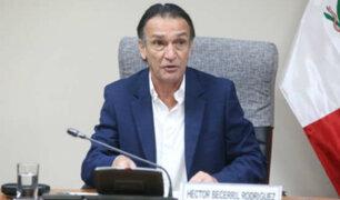 Procurador anticorrupción presenta denuncia penal contra Héctor Becerril