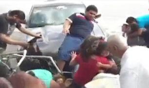 Accidentes con familias: imprudencia y exceso de velocidad ocasionan tragedias