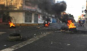 Protestas por crisis en el sistema judicial generan violencia en Iquitos
