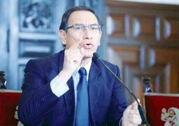 Presidente Vizcarra: Movilizaciones contra la corrupción tienen mi respaldo
