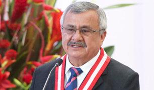 Francisco Távara asume de manera transitoria presidencia del Poder Judicial