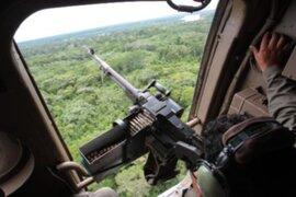 Vraem: abaten a cuatro delincuentes narcoterroristas