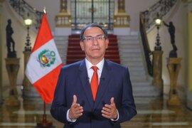 Marcha contra la corrupción: Vizcarra pide que se manifiesten de manera pacífica