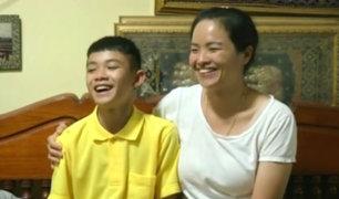 ¿Cómo vuelven a su vida normal los niños rescatados de la cueva de Tailandia?