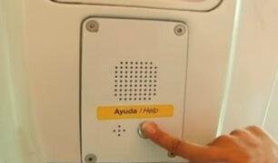 Instalan intercomunicadores y botón de emergencia contra acosadores en Metro de Lima
