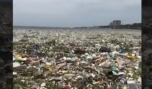 República Dominicana: inician campaña para salvar playa contaminada por basura