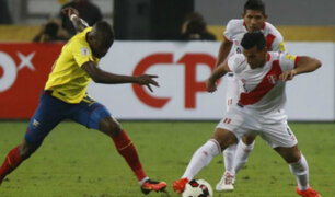 Selección peruana jugaría amistoso ante Ecuador en noviembre