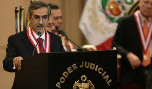 Próxima semana se elegiría al nuevo presidente del Poder Judicial