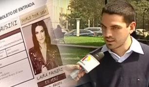 Fans de Laura Pausini denuncian estafa con entradas para su concierto
