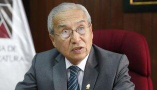 Pedro Chávarry convocó a Junta Extraordinaria de Fiscales supremos para mañana martes
