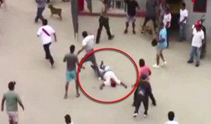Piura: hincha de equipo de Catacaos fue agredido brutalmente por barristas