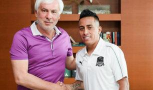 Christian Cueva firmó contrato por 4 años con el Krasnodar de Rusia