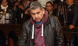 Walter Ríos pidió perdón en audiencia donde se evalúa su prisión preventiva