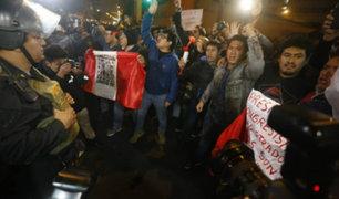 Miles abarrotaron Lima en la marcha contra la corrupción del sistema judicial