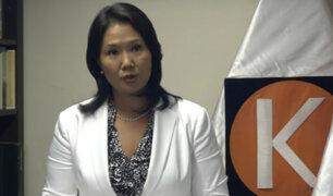Congresistas se pronuncian tras declaraciones de Keiko Fujimori por audio que la involucraría