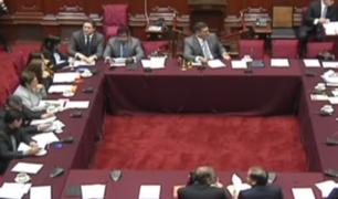 Comisión Permanente da 15 días a Acusaciones Constitucionales para investigar a ex miembros del CNM