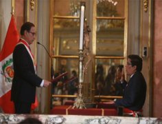 Vicente Zeballos juró como nuevo Ministerio de Justicia y Derechos Humanos