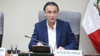 Procurador denunció a congresista Becerril por presunto tráfico de influencias