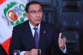 GFK: aprobación de presidente Martín Vizcarra descendió a 27%