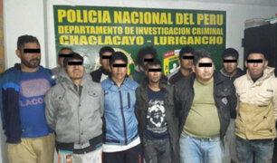 Capturan a delincuentes que asaltaban y extorsionaban en 3 distritos de Lima Este