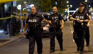Canadá: dos muertos y 12 heridos deja tiroteo en Toronto