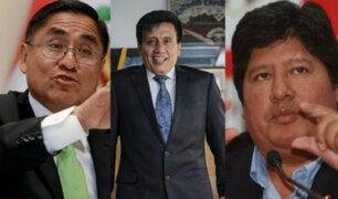 Congresistas se pronuncian por conversación entre Hinostroza y Camayo sobre discurso para Oviedo