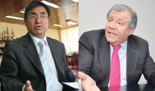 Parlamentarios comentan plática entre César Hinostroza y Ángel Romero
