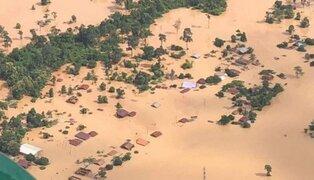 Cientos de muertos y desaparecidos deja colapso de represa en Laos