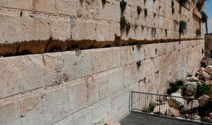 Israel: mujer salva de morir tras desprenderse una piedra de 100 kilos