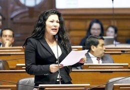 Yesenia Ponce: PJ solicita levantamiento de inmunidad de congresista