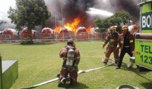 Guatemala: incendio en planta de gas propano