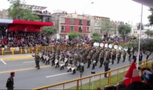 Fiestas Patrias: cerca a cinco mil efectivos resguardarán las calles