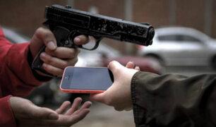 Robo de celulares: a nivel nacional se registran 6 mil 200 casos diarios