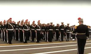 Surco: así se preparan las Fuerzas Armadas y PNP para la Gran Parada Militar