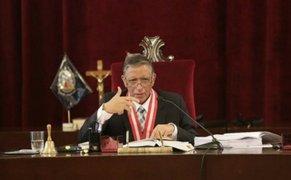 Poder Judicial aceptó renuncia de juez que dictó prisión preventiva contra Walter Ríos