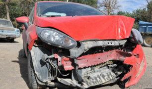 La Libertad: accidente de tránsito deja dos personas muertas