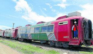 Tren turístico del Ferrocarril Central parte a la sierra por Fiestas Patrias