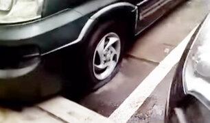 Continúa disputa entre vecinos por estacionamientos públicos en Surquillo